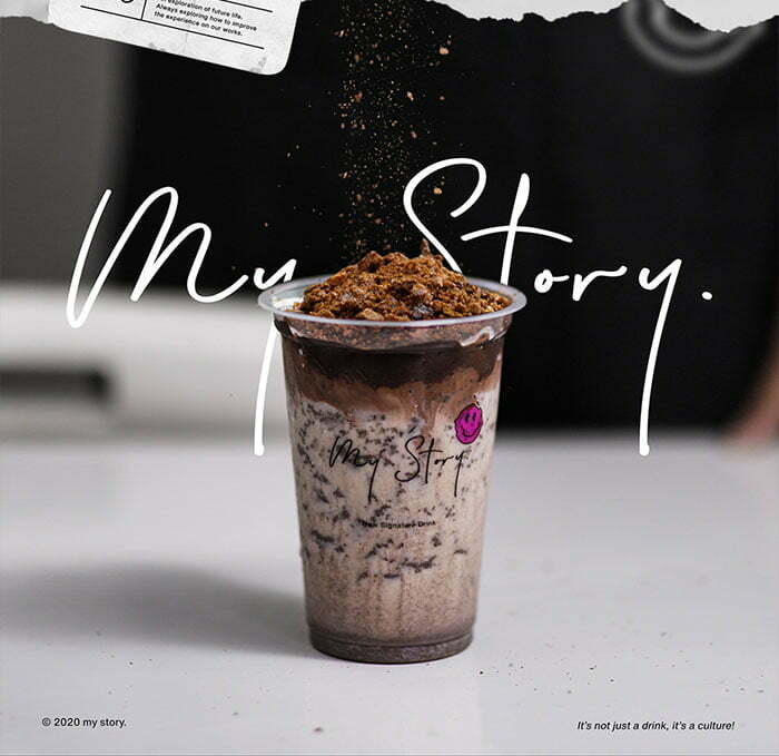 My Story Signature Drink franchise bisnis